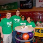 Penn State Berks SGA helped make BFKS at Hiesters possible by volunteering their time before hitting the lanes.
