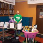 The BIG Raffle has is in its second BIG year, and BFKS Committee member Sam Padovani had those great prizes on display (and tickets available, of course).
